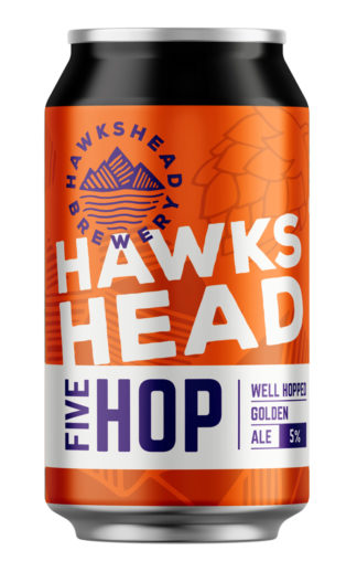 Hawkshead Brewery Five Hop 330ml can