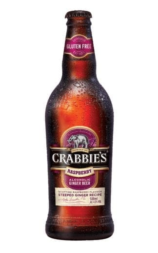 Crabbies Raspberry Alcholoic Ginger Beer 500ml