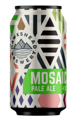 Hawkshead Brewery Mosaic Pale Ale 330ml can