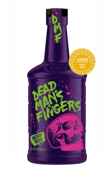 Award-winning Dead Man's Fingers Hemp Rum