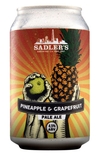 Sadler's Brewery Pineapple and Grapefruit Pale Ale