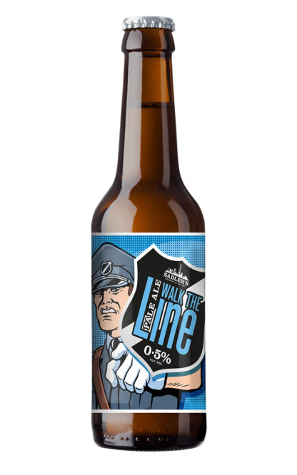 Sadler's Brewery Walk the Line alcohol free pale ale